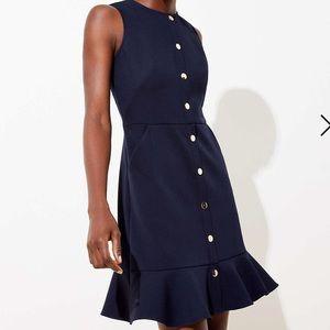 Beautiful navy Loft dress